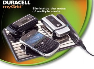 Duracell Smart Power Products uses wireless charging pad