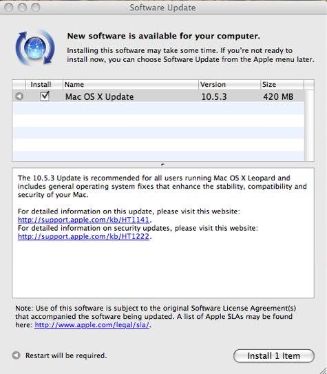 OS X 10.5.3