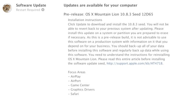 OS X 10.8.3 12d65
