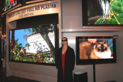 Largest Plasma TV