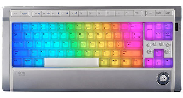 Lexeed LED keyboard