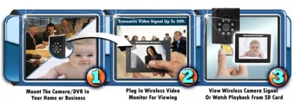 WiSpy EX30 Wireless Camera and Monitor