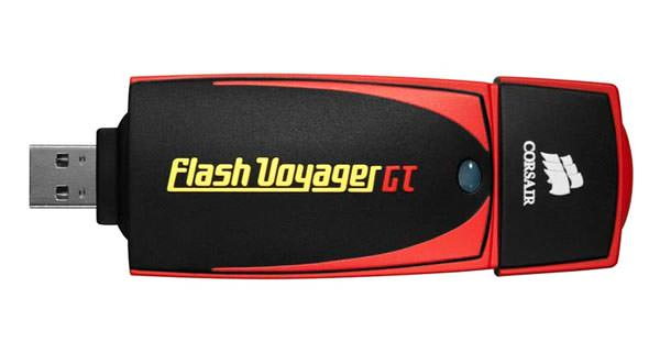 Corsair Flash Voyager GT: Fastest Thumb Drive at 128GB