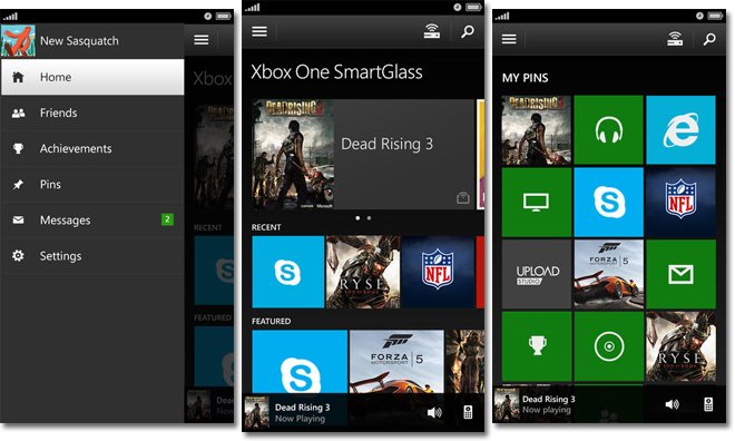 Xbox One smartglass ios