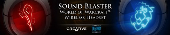 Creative WOW headphones for World of Warcraft