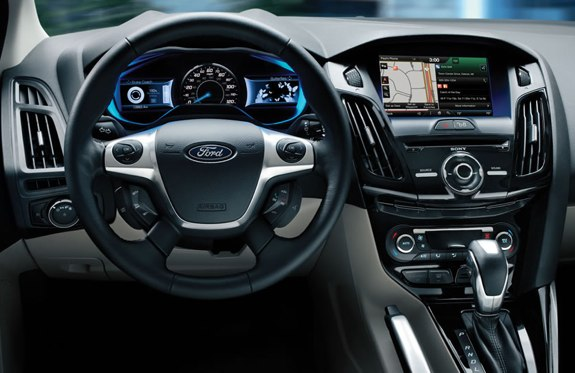 Ford Focus Electric 2012 dashboard