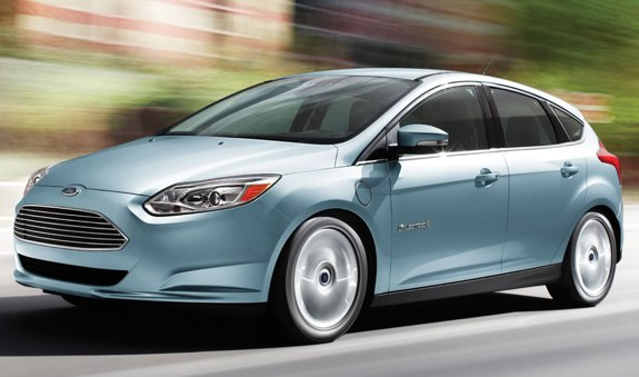 2012 ford focus electric review