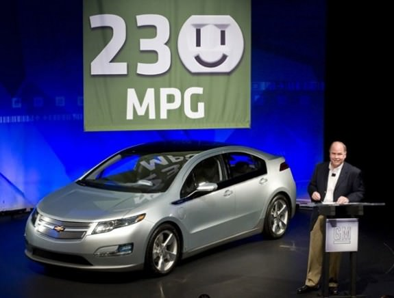 Chevy Volt's 230 MPG a little too much