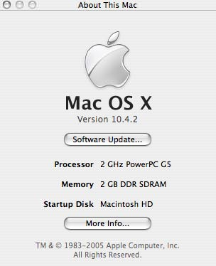 2GB iMac RAM Installed