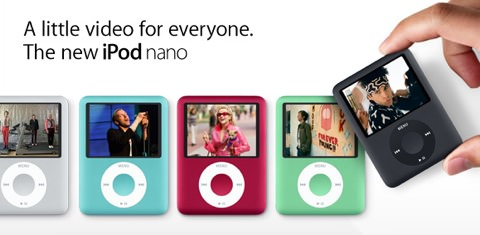 iPod nano 3rd Gen