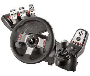 Logitech G27 Racing Wheel for Driving PS and PC games