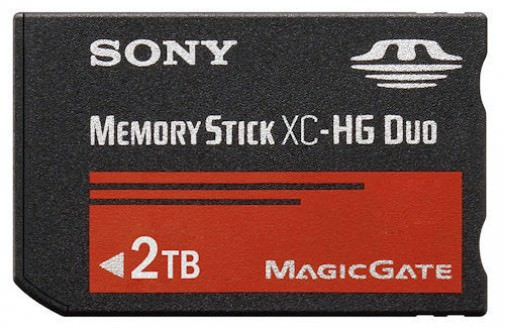 Sony's Ridiculous 2TB Memory Stick XC