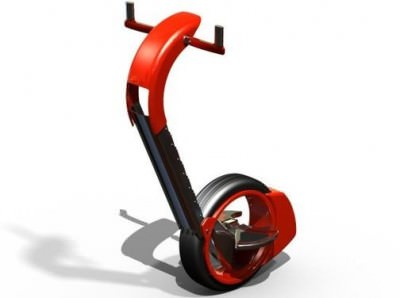 Orbis, the one-wheeled Segway