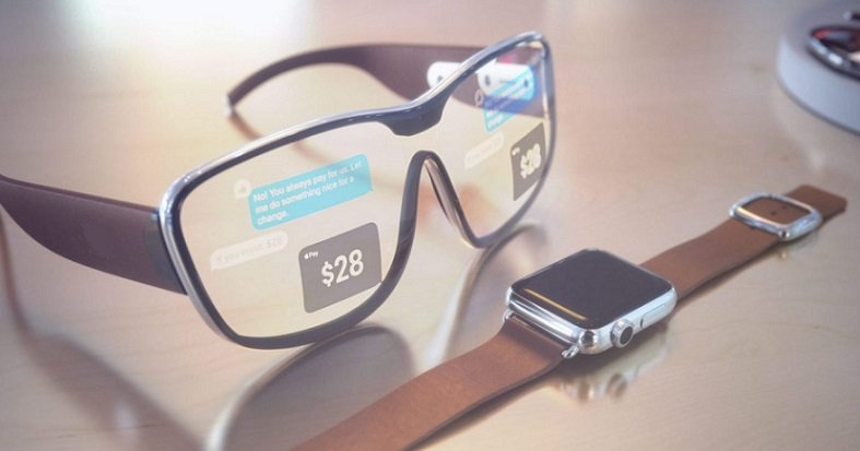 Apple augmented reality glasses AR