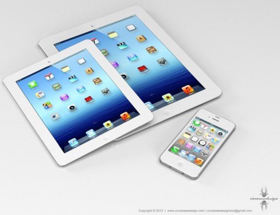 7-inch iPad coming in October