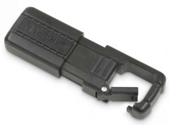 Verbatim Tuff-Clip Flash Drive