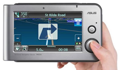 Asus R600 GPS