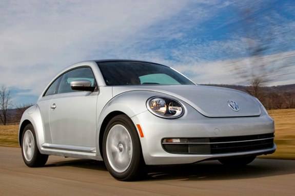 Redesigned VW Beetle