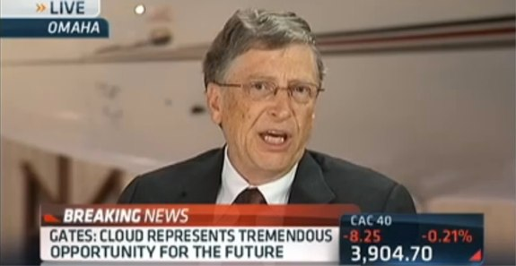 Bill Gates Disses iPad