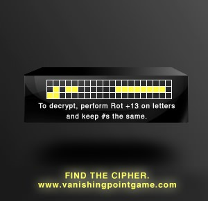 Vanishing Point Cipher Key 5