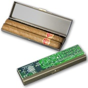 Circuit Board Cigar Case