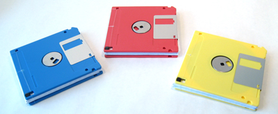 Diskette Notepad