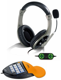 Genius Gamepad and Headset