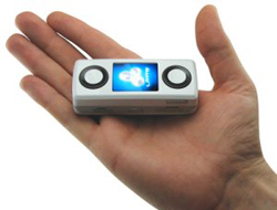 Mini-Boombox Cell Phone