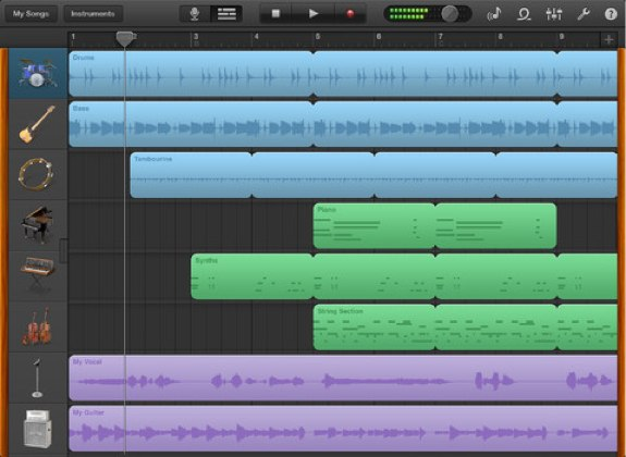 GarageBand 1.4 for iOS