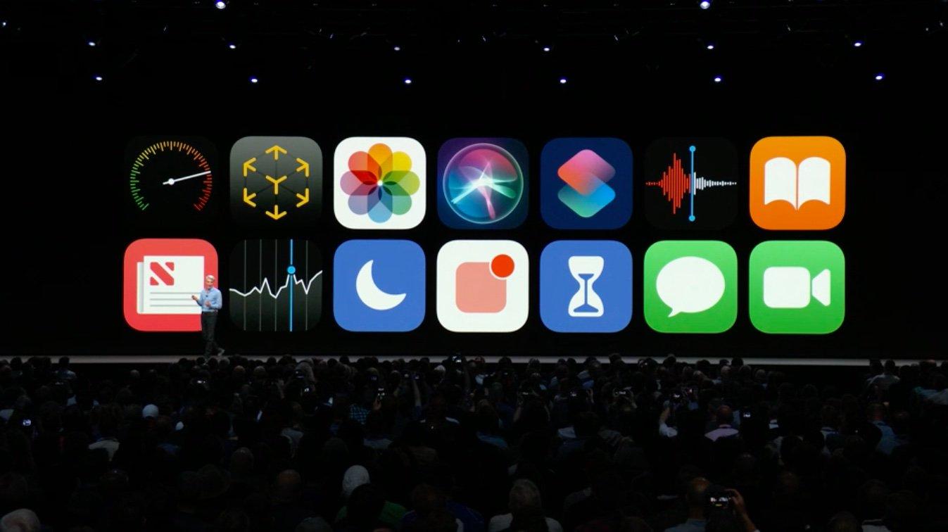 WWDC iOS 12
