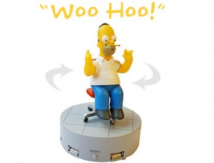 Homer Simpson USB Hub