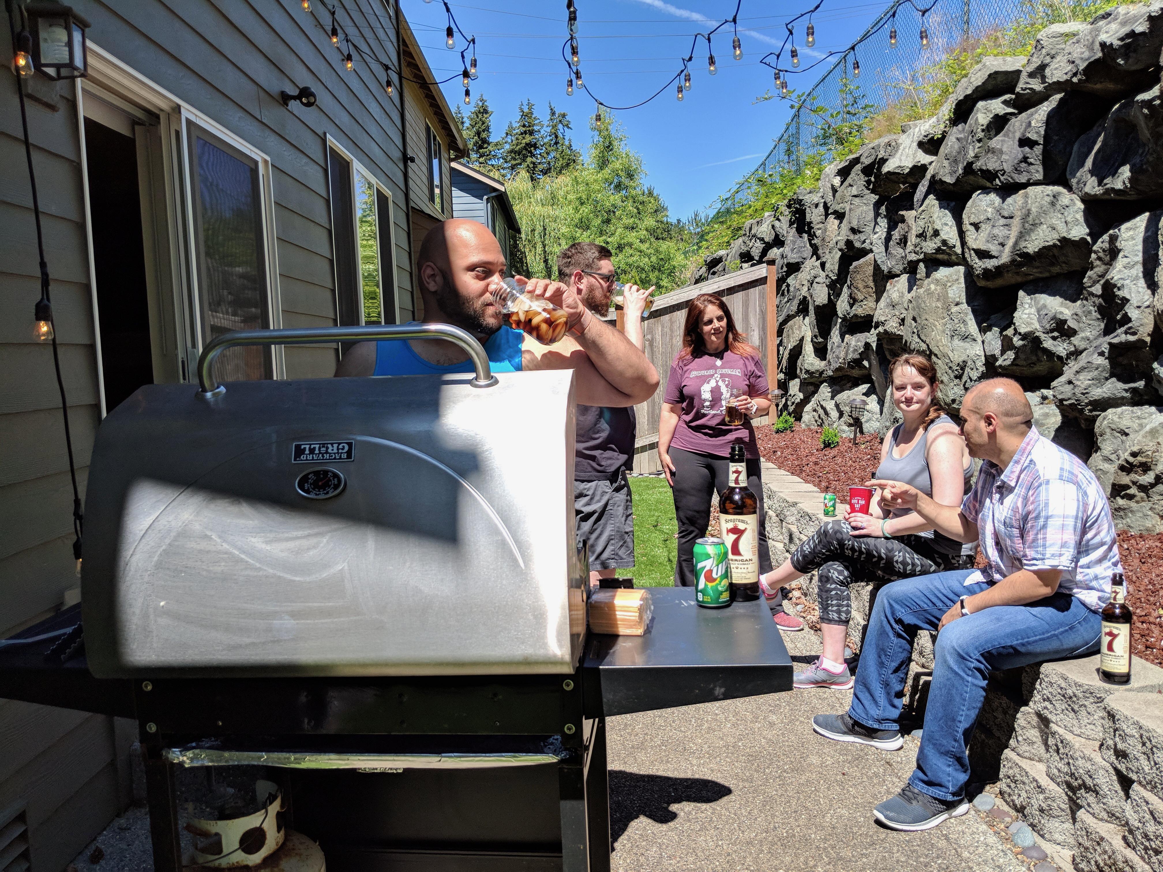 Home is the Key Habitat for Humanity backyard