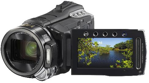 JVC HD Everio GZ-HM400 video camera