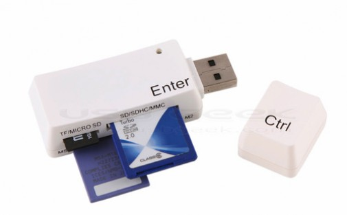 USB Keyboard Key Card Reader