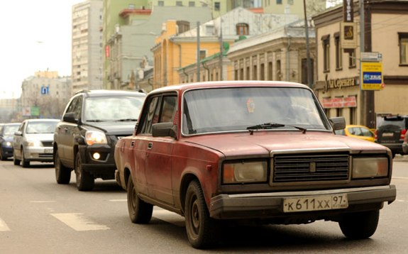 Farewell Lada 2107