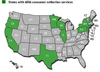 MRM Map