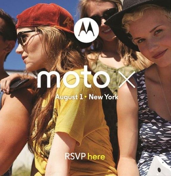 Moto X Smartphone event