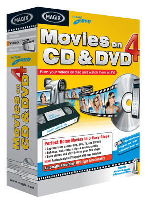 Movies on CD and DVD 4