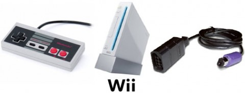 Retroport controller for Wii