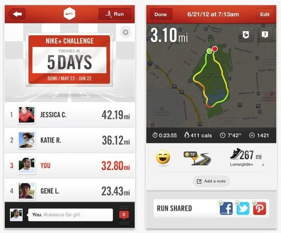Nike+ version 4.3