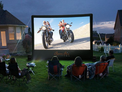 Open Air Cinema Inflatable Movie Screen