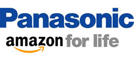 Panasonic/Amazon logo