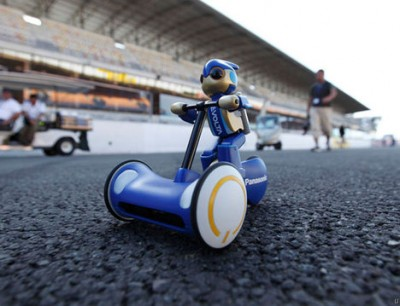 Evoia Robot Toy Breaks Battery Record