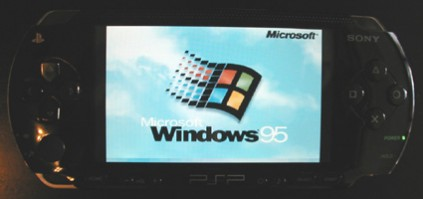 Windows 95 on PSP