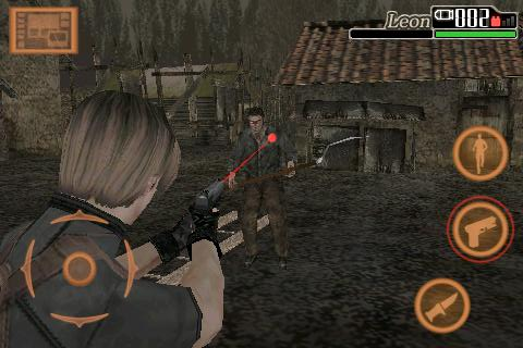 Resident Evil 4 iPhone