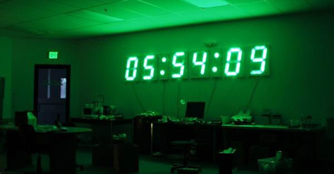 12-Foot Wide Clock