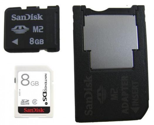 SanDisk making memory cards for PSP and Wii