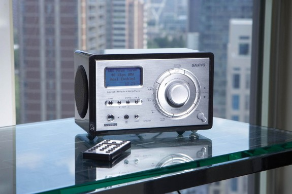 Sanyo R227 Internet Radio