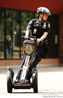 NYPD on Segway