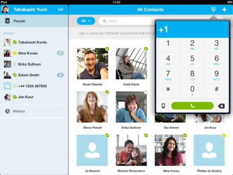 Skype Updated to version 4.6 for iOS